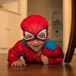 Report: Tedesco munchkin's wardrobe entirely replaced by Halloween Spider-Man costume