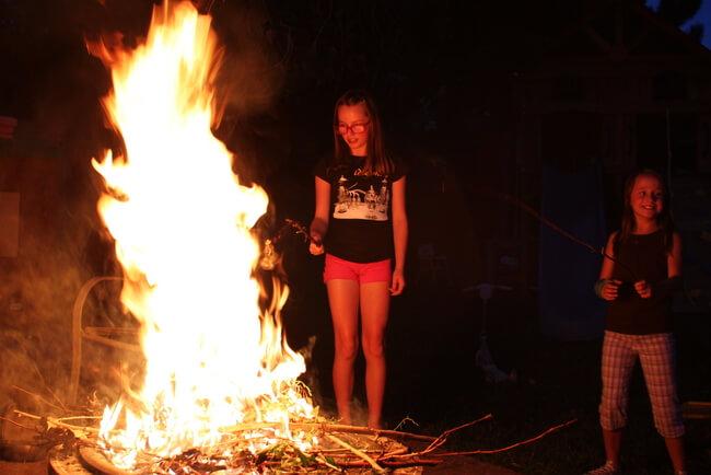 Massive bonfire