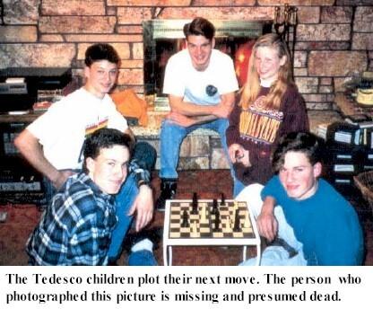 The Tedesco kids plot their next move