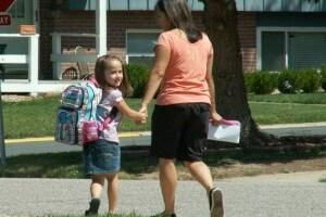 Lili at school