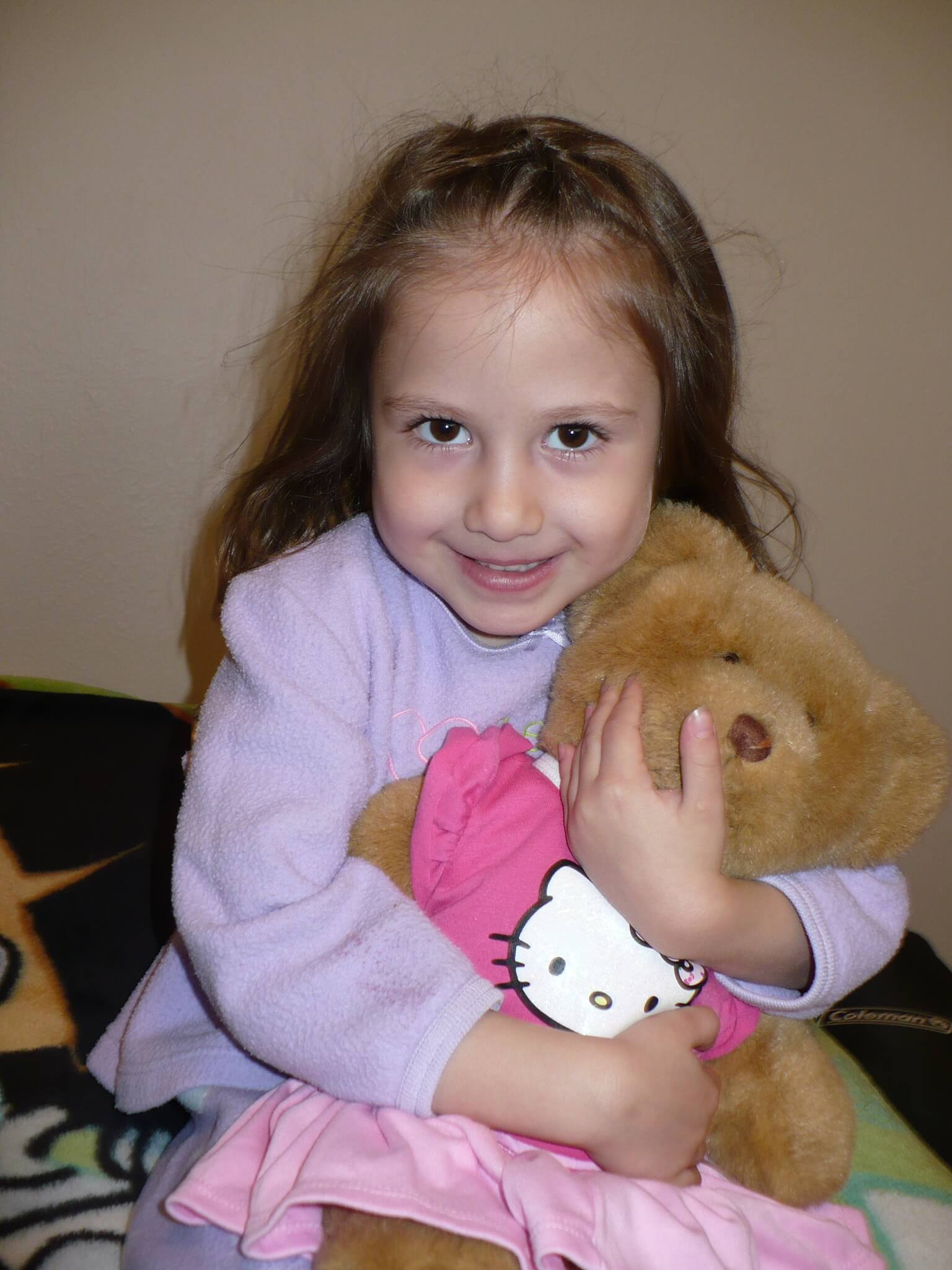 Gigi and her Build-A-Bear