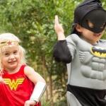 Halloween superhero costumes replace entire wardrobe