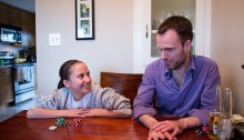 Gigi learns about poker from Uncle Mike
